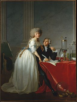 Monsieur Lavoisier and his Wife