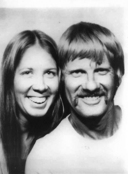 1974 Carol, Vernon, Space needle photo coin booth.