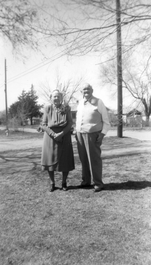 1946 Grandma (McCurdy) and Grandpa Smith
